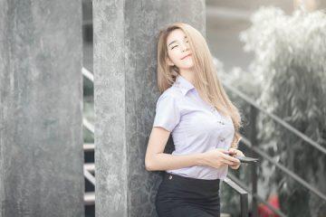 Người đẹp Thái Lan JANET in Uniform