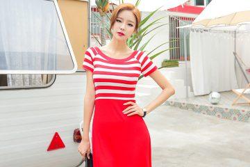Váy dài quyến rũ – Người mẫu Hàn Quốc Son Ju Hee 송주희