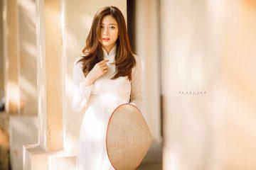 Áo dài trắng tinh khôi