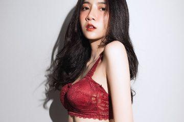 Strawberry Cake – Thailand Model Sasi Ngiunwan