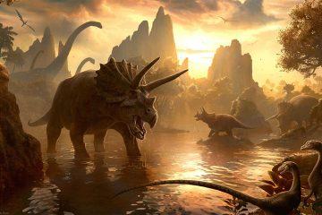 Hình nền khủng long thời tiền sử cực đẹp và sống động