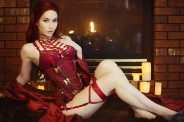 Bindi Smalls cosplay | Melisandre