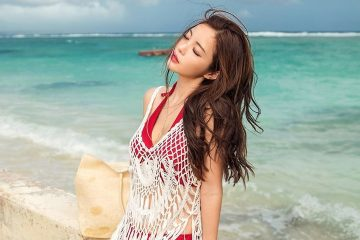 Jin Hee model – Korean fashion Beachwear