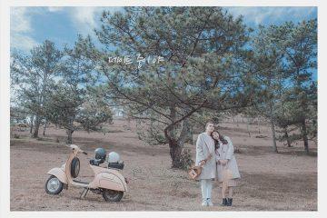 Bộ ảnh màu Hàn Quốc cực đẹp chụp giữa lòng Đà Lạt