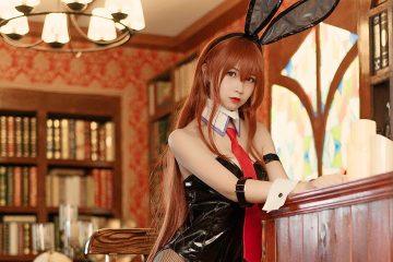 [逐月SU] Makise Kurisu Japanese girl Cosplay Bunnie