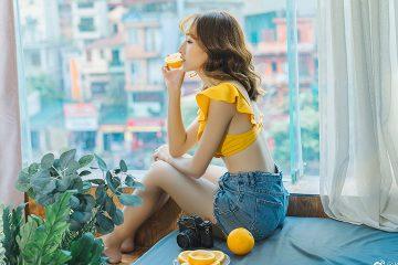 Người đẹp và Quả cam
